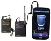 Azden Wlx-pro+i Wireless Mono Lavalier Microphone Kit With Iphone And Android Phon