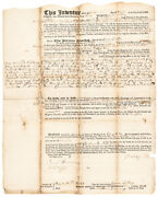 December 1 1743 New Hampshire Currency Issue Act Related Mortgage Loan Document