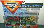 Spin Master Monster Jam 2020 Color Change Northern Nightmare/earth Shaker New