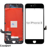 Screen Replacement For Iphone 8 Black Lcd Touch Digitizer Assembly Display Us