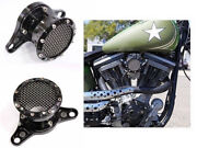 Velocity Stack Air Cleaner Intake Filter For Harley Sportster 883 Police Xl883p