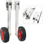 Transom Launching Wheels Wheel For Inflatable Boat Dolly Dinghy Wheels