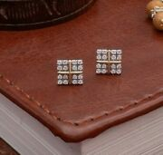 Diamond Earrings 14 K Solid Gold 0.21 Carat Natural Perfect For Birthday Gift