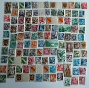 100 Different Occupied Germany Wwii French Zone Stamp Collection