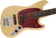 Fender Made In Japan Hybrid Mustang Bass Vintage White With Small Scratches