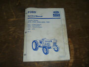Ford New Holland 4000 5000 7000 Tractor Series Engine Shop Service Repair Manual