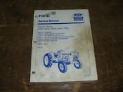 Ford New Holland 4000 5000 Tractor Series Transmission Pto Service Repair Manual