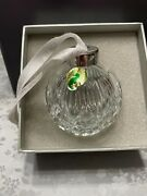 Waterford 2006 Times Square Hope For Fellowship Crystal Ball Ornament 135441