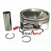 8x Engine Pistons W Pins Half Rings Fit For 10-18 Ranger Rover /sport 5.0t 508ps