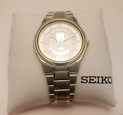 Custom Seiko Bloomington Gold Certified Prize Watch Chevy Mens Two-tone S/s-gold