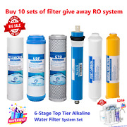 6 Stage Reverse Drinking Osmosis Water System Ro Water Filters 10 Set Giveaway