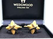 Wedgwood Star Cufflinks With Box Menand039s Accessories Jewerly Shipping From Japan