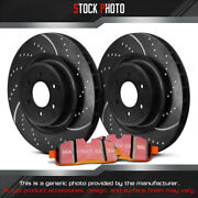 Ebc Brakes Stage 8 Super Truck Dimpled And Slotted Front Brake For 13-17 F-250