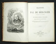 Song Of P. J. Of Beranger,old And Posthumous, 161 Illustrations Prints