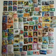 300 Different Antigua And Barbuda Stamp Collection