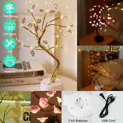 Battery/usb Powered Led Fairy Tree Light Copper Wire Home Room Party Decor Lamp
