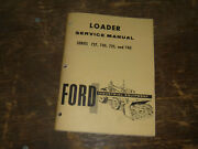 Ford Ford 740 Loader For Ford 4500 Tractors Shop Service Repair Manual