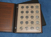 1999-2008pds And Silver Statehood Quarter Complete 200 Coin Set In Dansco E0738
