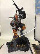 In Stock Dc Universe Dc Comics Deathstroke 1/4 Scale Figure Resin Statue Limited