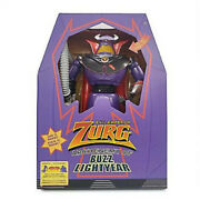 Toy Story Emperor Zurg Disney Store Talking Light Up Action Figure 15 New Sale