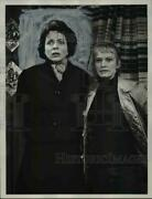 1960 Press Photo Beatrice Straight Fay Spain Alfred Hitchock Parents