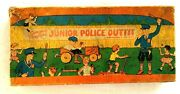 1920's Junior Police Outfit In Original Box Including Toy Badge