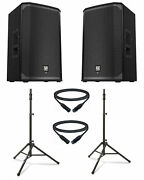 Electro-voice Ekx-12p-dual-2-k Kit With 12 Speakers Stands Cables
