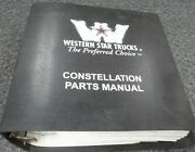 1989-1991 Western Star 4842s 4864f 4864s 4842fx Truck Parts Catalog Manual 1990