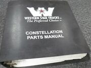 1992-1994 Western Star 4842s 4864f 4864s 4842fx Truck Parts Catalog Manual 1993