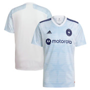 Chicago Fire Adidas Official Youth Mls 2021/22 Replica Away Jersey - White
