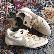 Vintage 70andrsquos Nike Soccer Football Cleats Korea Menandrsquos 7 1970s Shoes Sneakers Rare