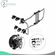 Durable Car Roof Rear Bicycle Carrier Rack Two Bike Spare Tire-mounted Bike