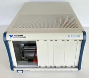 National Instruments Xi-1042 8-slot Universal Ac Pxi Chassis + Ps With Auto-fan