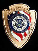 Tsa Transportation Security Administration Wyoming Copper Color Challenge Coin