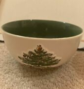 Spode Christmas Tree China With Green Trim Set Of 2 Bowls