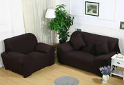 1 2 3 4 Seater Sofa Covers Stretch Armchair Slipcover Couch Protector