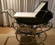 Vintage 1970and039s Luxury Pram Stroller Sold By Saks Fifth Avenue Made In England