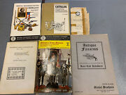 Lot Of Vintage Antique Firearms Catalogs And Booklets