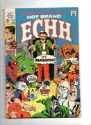 Not Brand Echh 12 And 13, 1968-69 68pg Marvel Parody Comic Beatles Cameo