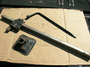 1960and039s-early 70and039s Hook Type Gm Bumper Jack.good Cnd.adapter Hook Missing.34.6d.