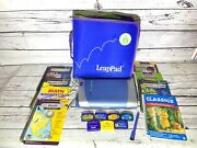 Leap Frog Leappad Pro Electric Learning Toy Stylus 8 Books And Cartridges Tested