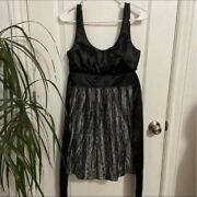 My Michelle Shiny Black Grey Lace Sequin Party Prom Cocktail Homecoming Dress