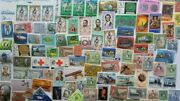 500 Different Jamaica Stamp Collection