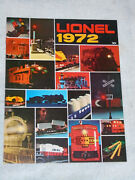 1972 Lionel Toy Train And Accessory Catalog New Unused Postwar O 027 Gauge Sets