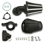 Stage 1 Black Cone Air Cleaners Filters Kits For Harley Touring Glides M8 17-20