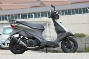 Valiente Suzuki 08address V125 Cf46a Carbon Full Exhaust For Motorcycles