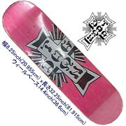 Dog Town Skateboard Deck Street Cross Logo Deck 8.25 New Imported From Japan