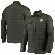 2020 Ryder Cup Cutter And Buck Full-zip Weathertec Shirt Jacket - Olive
