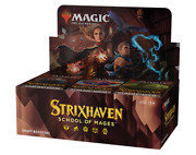 Strixhaven Draft Booster Box - Mtg Magic The Gathering - Brand New - Ships Now
