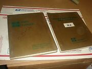 2 Bucyrus-erie 20-h Hydraulic Excavator Instruction Service And Parts Manual Lot